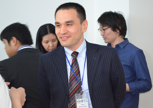 Timur  Dadabaev Author of Evaluating Organization Development