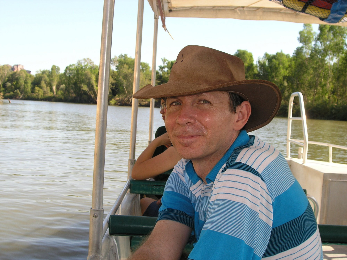 Kevin  Blackburn Author of Evaluating Organization Development