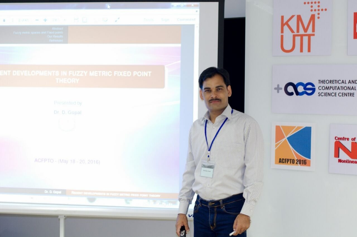 Dhananjay  Gopal Author of Evaluating Organization Development