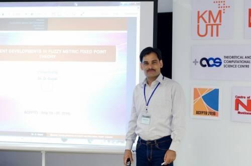Author - Dhananjay  Gopal