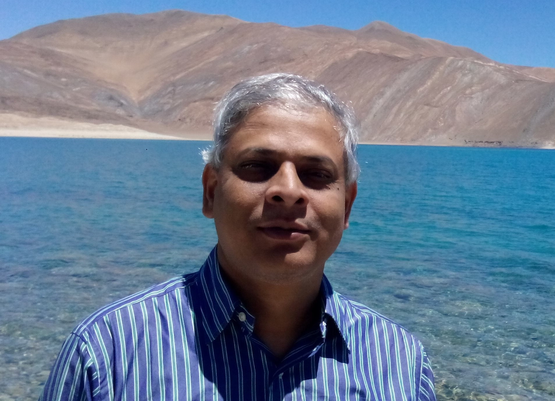 Amit  Patra Author of Evaluating Organization Development