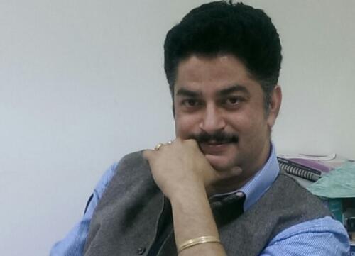 Author - Sanjay K.  Sharma, FRSC
