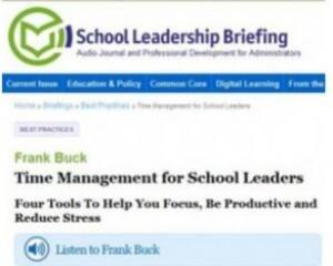 School Leadership Briefing