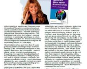 Traumatic Brain Injury Rehabilitation: The Lefaivre Rainbow Effect