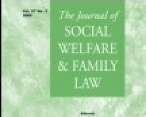 Journal of Social Welfare and Family Law