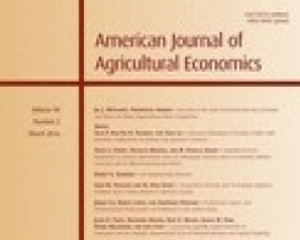 American Journal of Agricultural Economics