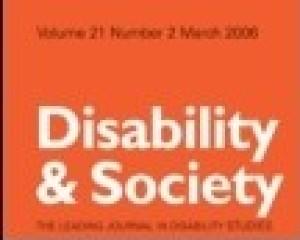 Disability & Society 28(4), 471–85.