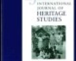 International Journal of Heritage Studies 7(3), 249–72