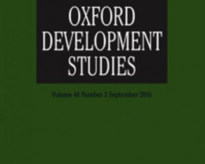 Oxford Development Studies 41(3)