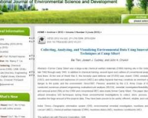 International Journal of Environmental Science and Development, Vol. 3, No. 3, June 2012