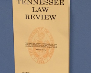 University of Tennessee Law Review
