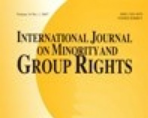 International Journal of Minority and Group Rights