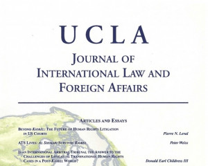 UCLA Journal of International Law and Foreign Affairs
