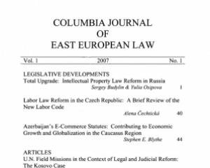 Columbia Journal of East European Law