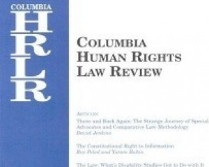 Columbia Human Rights Law Reveiw