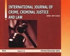 International Journal of Crime, Criminal Justice and Law