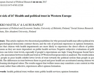 European Journal of Political Research (forthcoming)