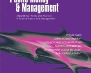 Public Money & Management