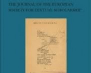 Variants: The Journal of the European Society for Textual Scholarship