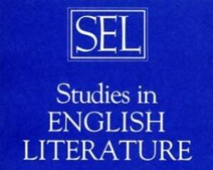 SEL: Studies in English Literature 1500-1900