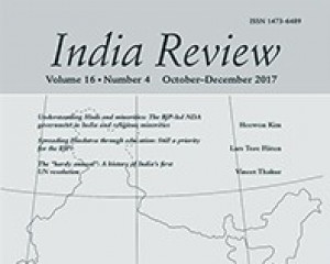 India Review, Routledge