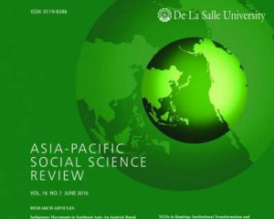 Asia-Pacific Social Science Review