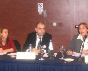 """Presentation of research at the conference """"The future of European Union: Challenges for the theory and politics"""