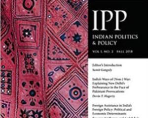 Indian Politics & Policy, Westphalia Press, USA
