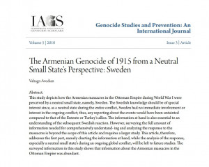 Genocide Studies and Prevention: An International Journal