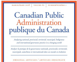Canadian Public Administration, 61(1), pp.109–129