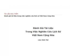 Tập-san Việt-Học Journal