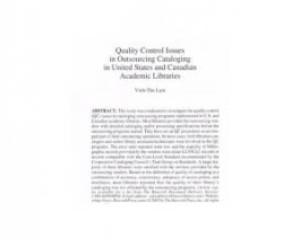 Cataloging & classification quarterly, v. 40, no. 1 (2005), 101-122