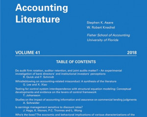Journal of Accounting Literature