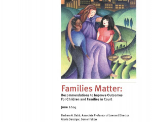 University of Baltimore School of Law Sayra and Neil Meyerhoff Center for Families, Children and the Courts