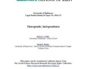 Encyclopedia of Criminology and Criminal Justice