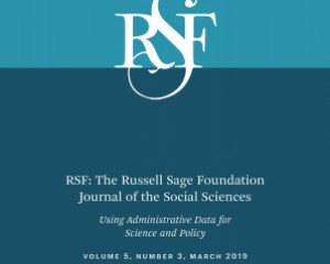 Russell Sage Foundation Journal of the Social Sciences, 5(3), 20-40