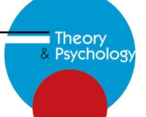Theory & Psychology, 2019, 29(5), 567–578.
