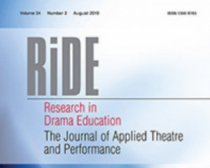 Research in Drama Education: The Journal of Applied Theatre and Performance