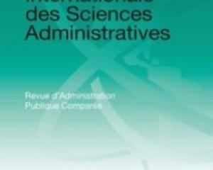 Revue Internationale des Sciences Administratives, Vol.85, pp.757-777.