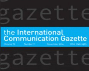International Communication Gazette 77.3 (April 2015): 297-311.