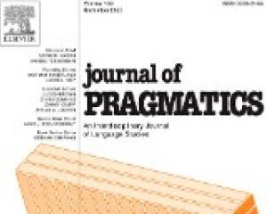 Journal of Pragmatics, Jamuary 2019, Elsevier