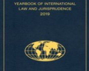 The Global Community – Yearbook of International Law and Jurisprudence 2019