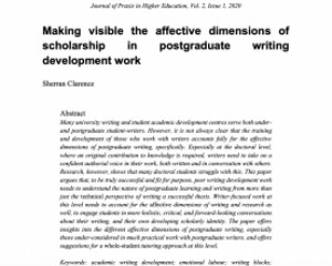 Journal of Praxis in Higher Education