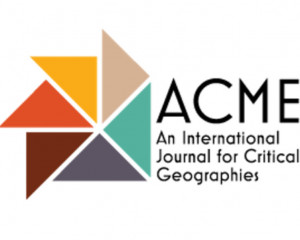 ACME: An International Journal for Critical Geographies
