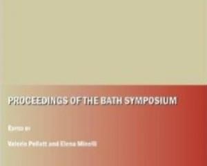 Proceedings of Bath symposium