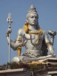 Lord Shiva at Murudeswar, Karnataka