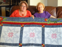 A quilt made by 3 generations