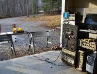 X-band UWB Impulse Rail SAR