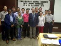 Durable Concrete with Mineral Admixtures: Training Course I offered at Malaysia