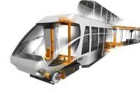 Cutaway Railcar Image